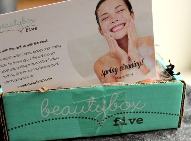 march 2014 beauty box 5 five
