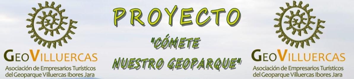 Proyecto Cómete Nuestro Geoparque