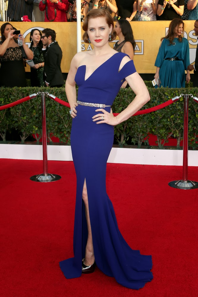 Amy Adams in Antonio Berardi at the SAG Awards