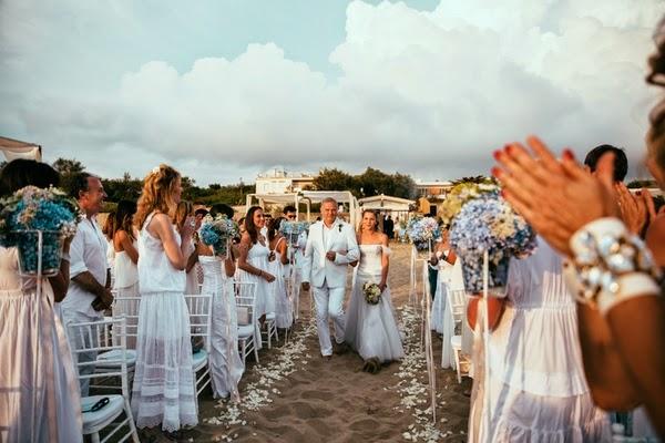 Matrimonio Spiaggia Sabaudia : Le frufrù: marina valerio