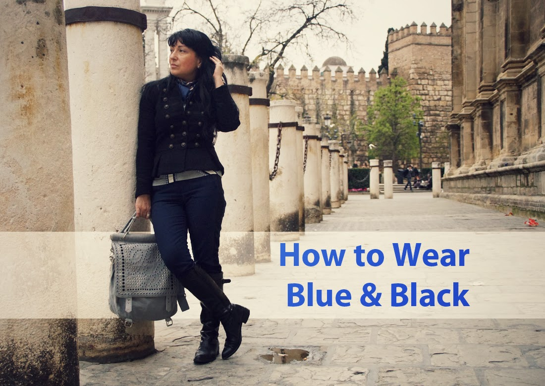How+to+Wear+Blue+&+Black