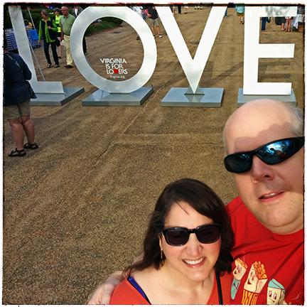 Virginia is for Lovers via foobella.blogspot.com