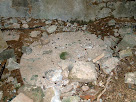 Roda de molí a la planta baixa del primer Molí del Pla