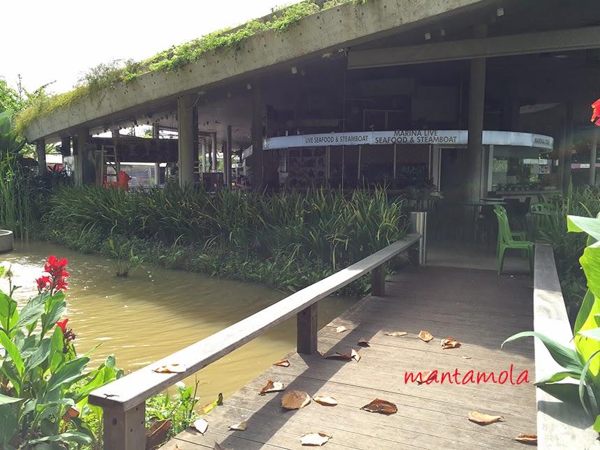Satay by the bay bridge