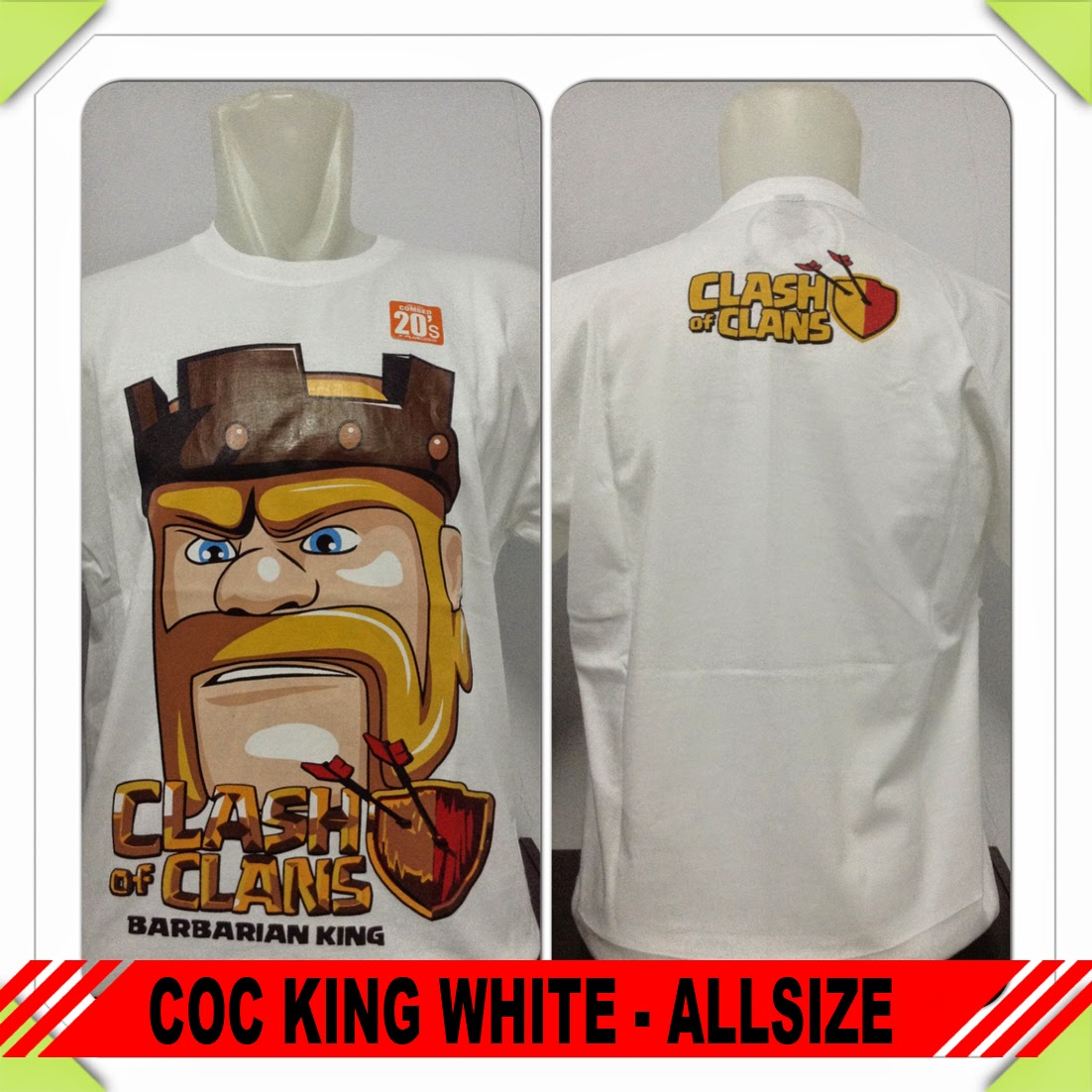Baju COC Barbarian King