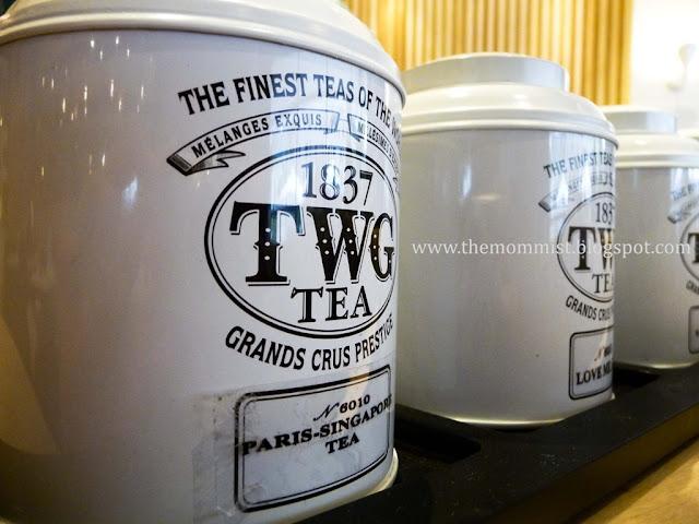 TWG Tea cans