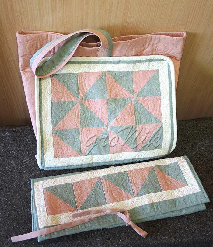 текстильный комплект для вязальщиц