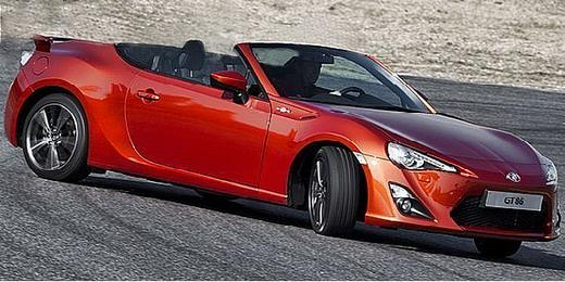 Scion FR-S convertible, Toyota GT86 convertible