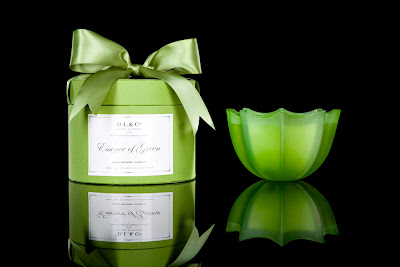 D.L. & Co., D.L. & Co. Essence of Green 10 Oz. Candle, D.L. & Co. candle, candle, home fragrance, D.L. & Co. Essence of Green Candle