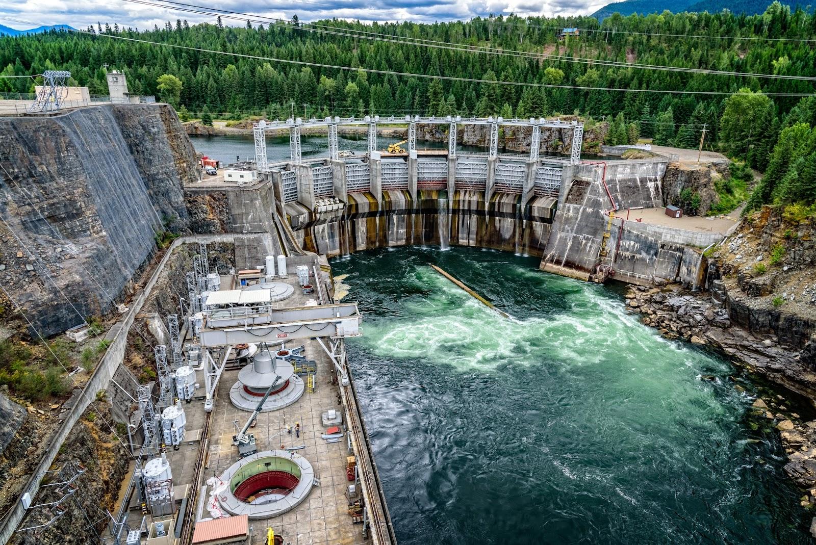 Cabinet Gorge Dam, Idaho