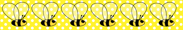 Free printable bumble bee and bow tags – ausdruckbare Biene ...