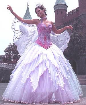 Vestido de fiesta 15 lila
