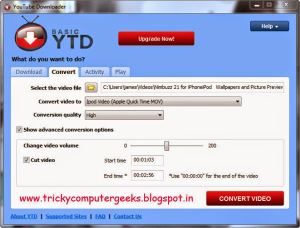 Free download youtube downloader 489 tricky computer geeks you have to just copy and paste the link of the video in the url field and click on the big download button you can also convert the videos in different ccuart Image collections