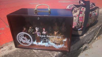 Pepa Saavedra y Expo Hobby