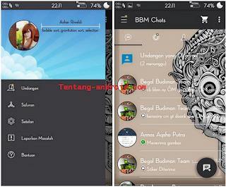 Download BBM mod Aksara 290.0.0.29 apk