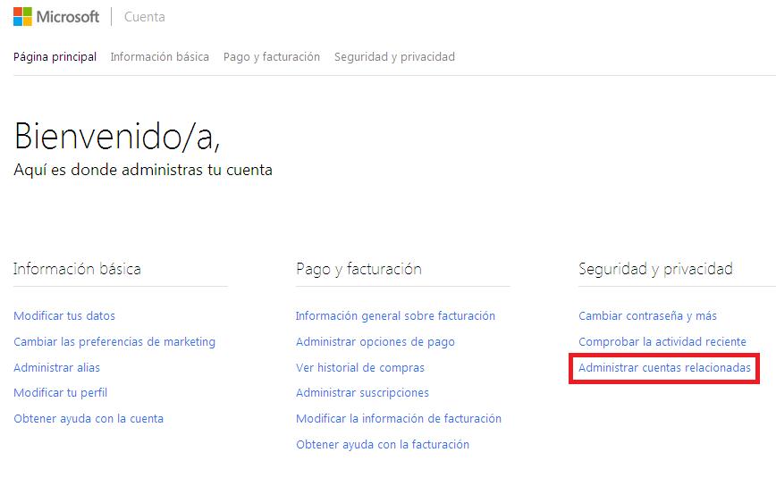 Paso 2 Conectar Twitter con Outlook.com
