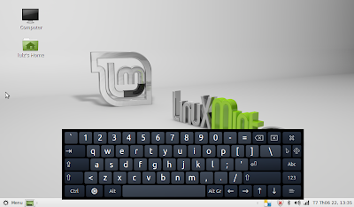 virtual keyboard in Linux Mint MATE
