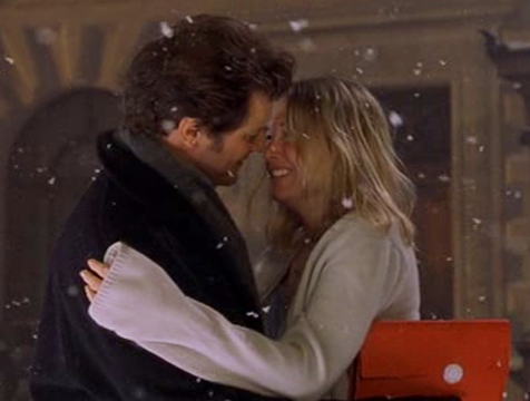 Bridget Jones (Renée Zellweger) y Mark Darcy (Colin Firth), El diario de Bridget Jones - Cine de Escritor