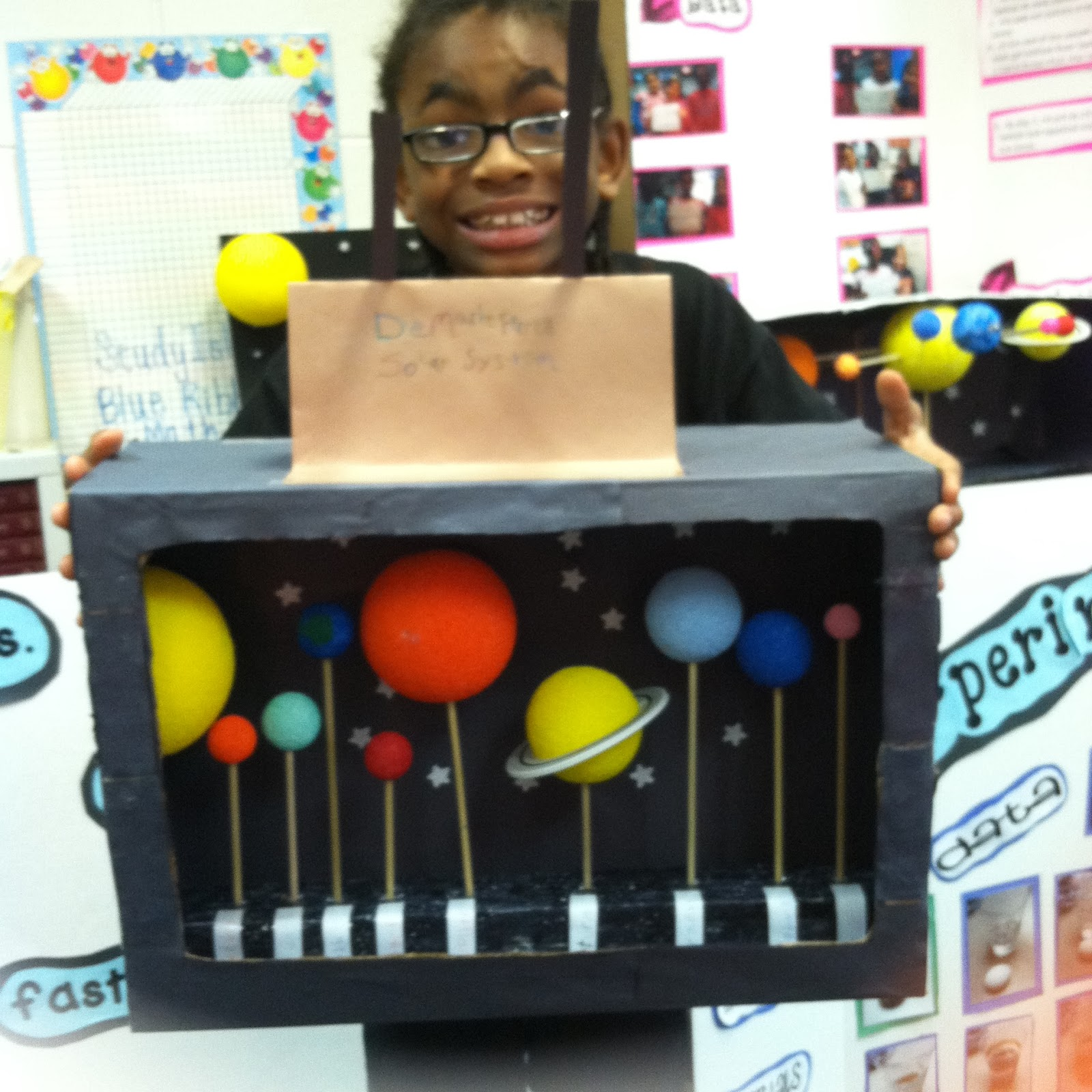 Ms  Robinson U0026 39 S Class   Solar System Projects