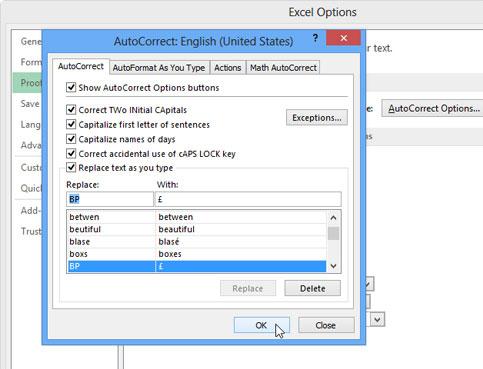 Gán shortcut cho biểu tượng trong Excel 2013 11