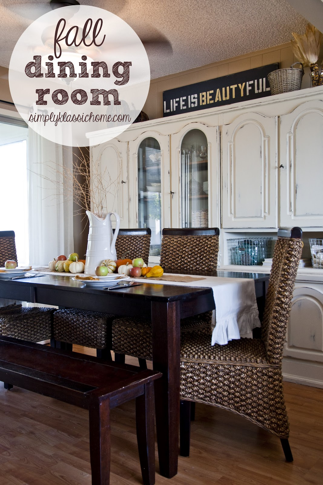 dining room tablescapes fall dining room and tablescape yellow
