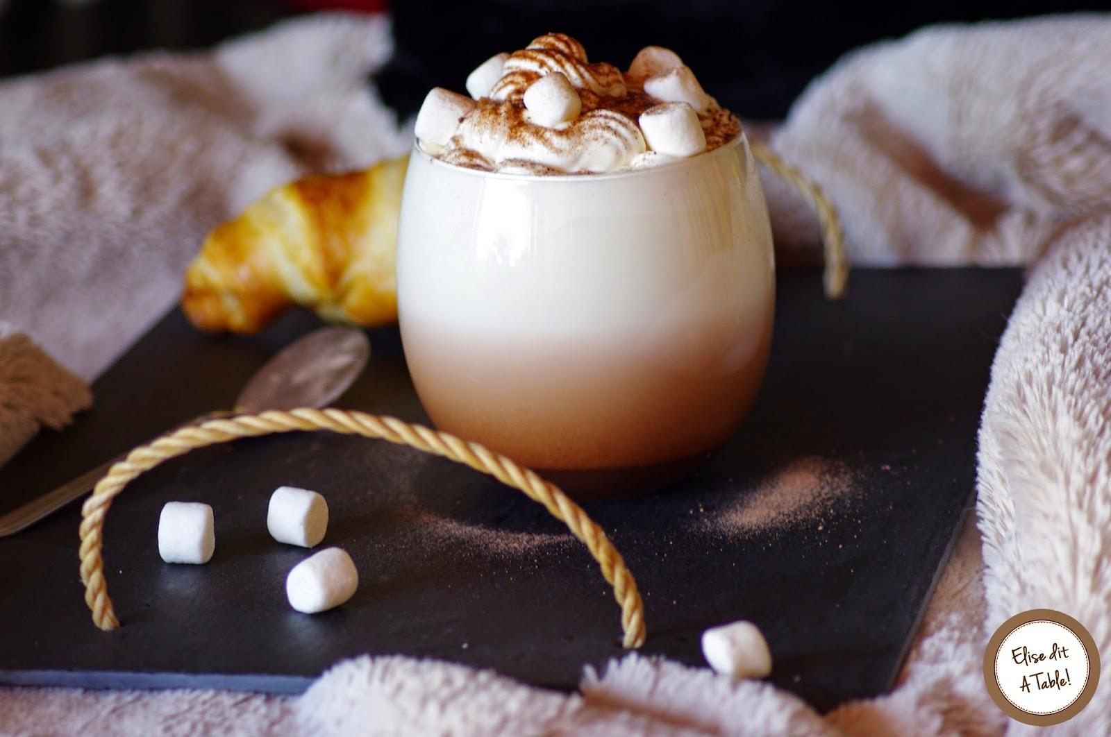 recette chocolat chaud gourmand