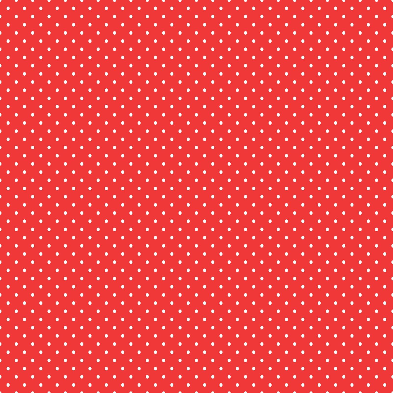Red And White Polka Dot Wallpaper