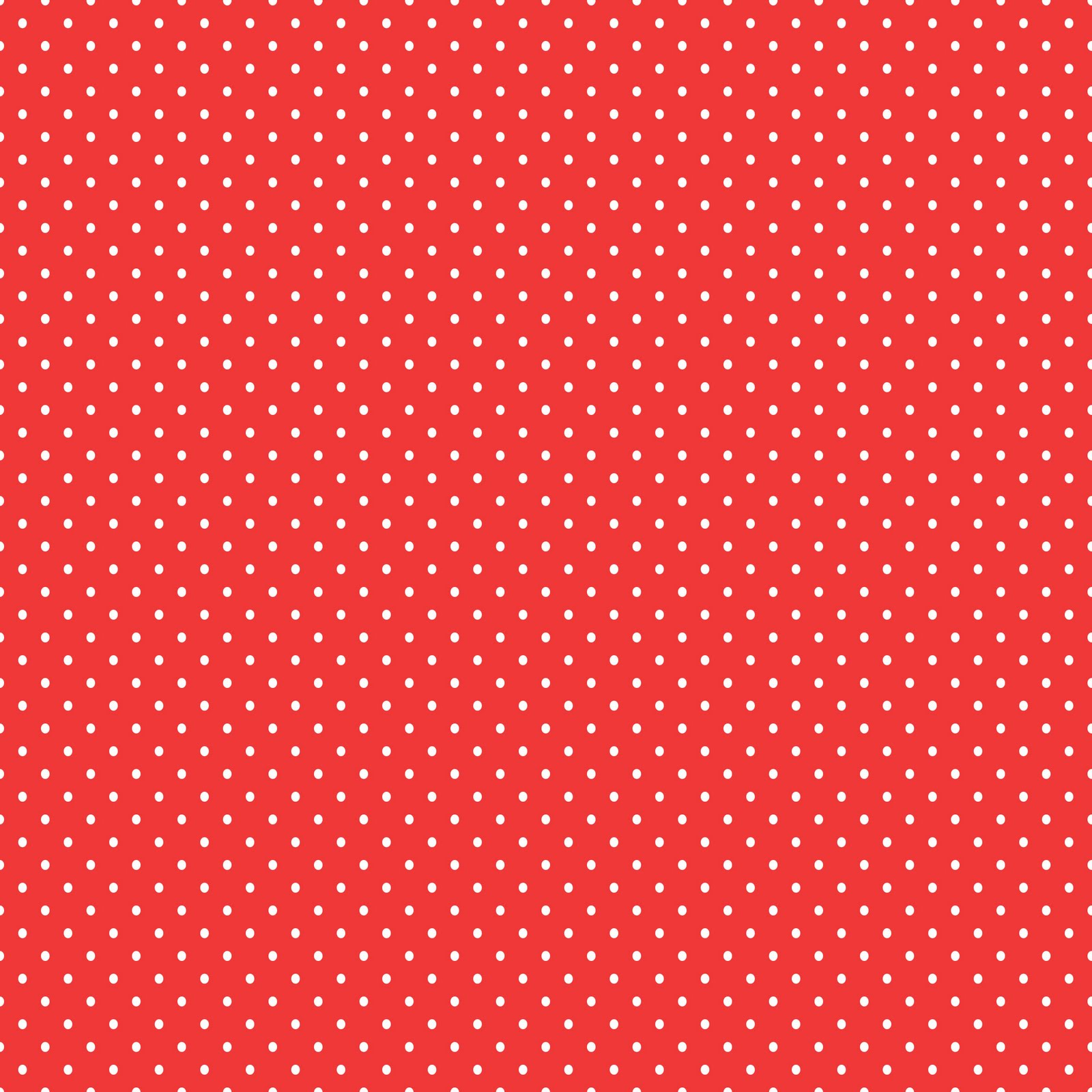 Free Digital Sbook Paper   Red Polka Dots