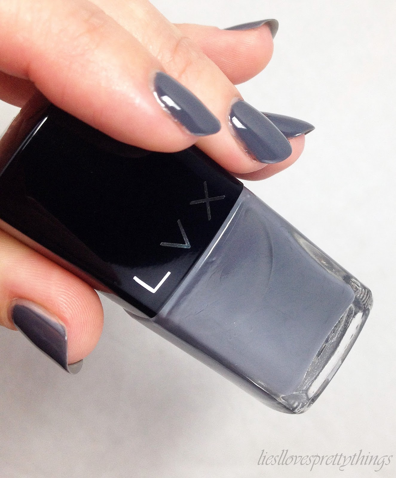 LVX Anthracite fall 2014 swatch and review