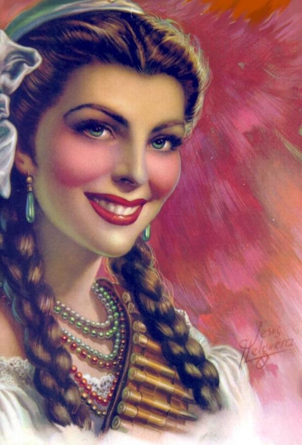 mujer famosa mexicana: