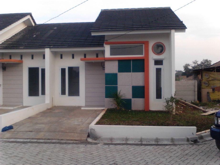 fasad rumah type 36 yang sederhana idaman
