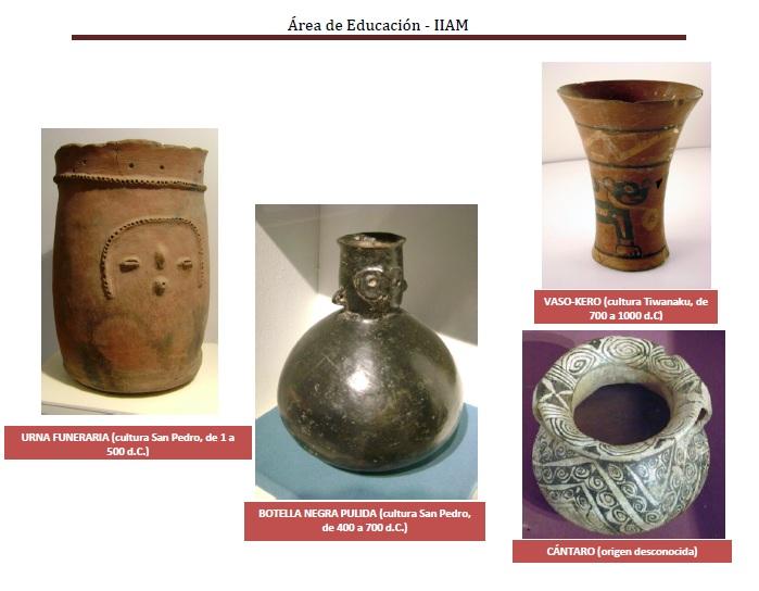 Museo arqueol gico de san pedro de atacama taller de - Ceramica san pedro ...
