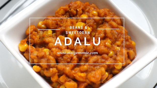 adalu, beans and corn
