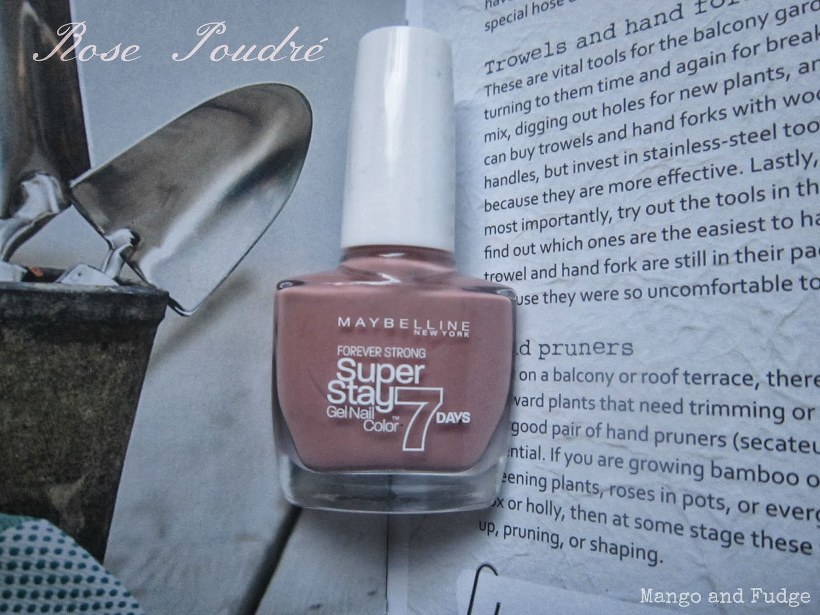 maybelline forever strong superstay 7 days gel nail color in rose