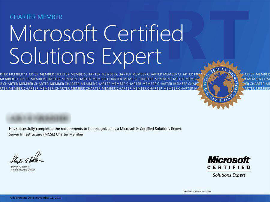 Mcse Business Intelligence Certification It Pro Life