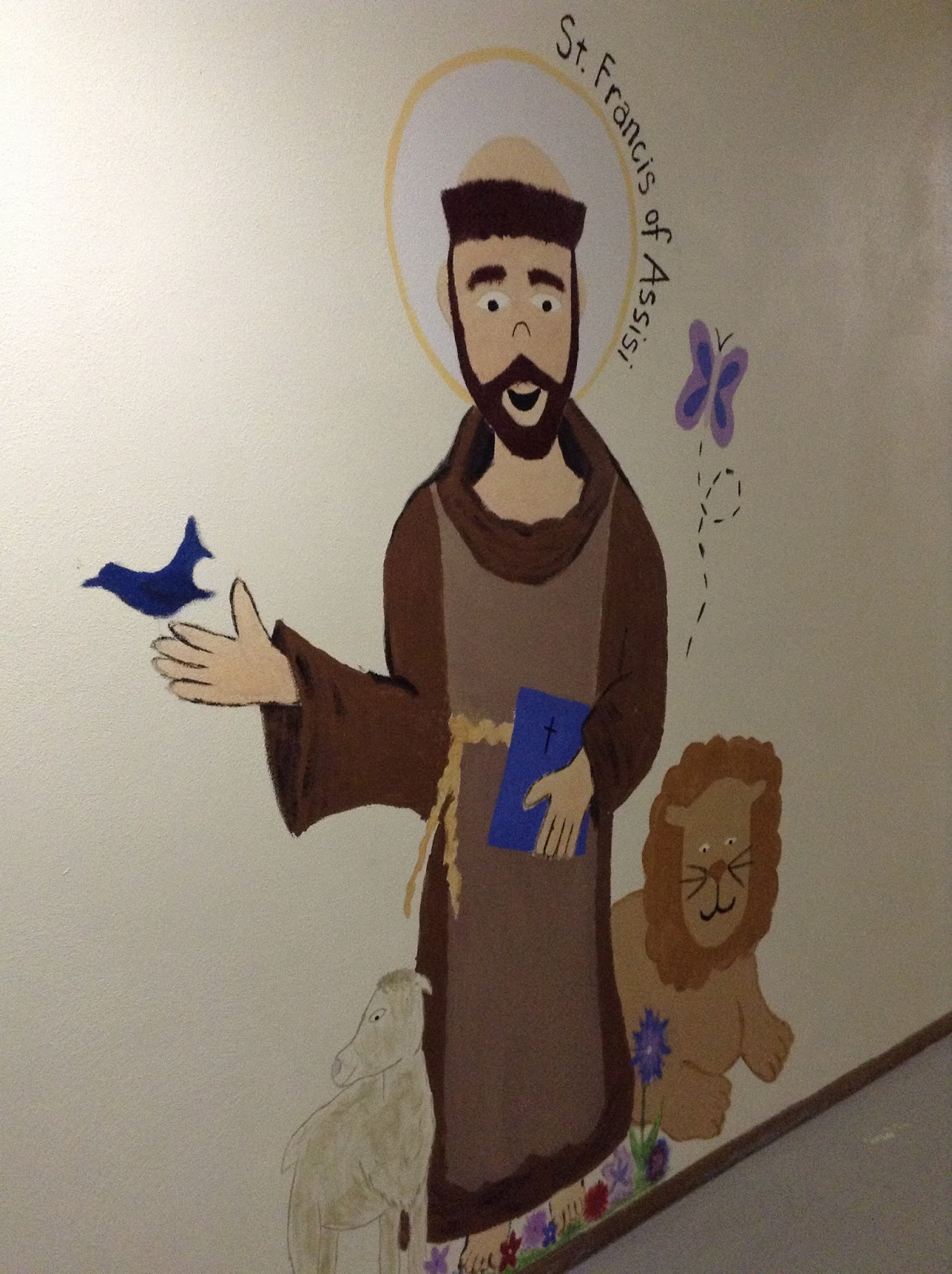 Look To Him And Be Radiant Saints Coloring Pages St Francis Of St Francis Of Assisi Coloring Page