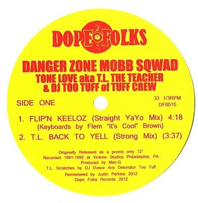 Danger Zone Mobb Sqwad – Flip'n Keeloz / T.L. Back To Yell (VLS) (2012) (256 kbps)