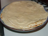 simple Chinese recipe making thin spring flatbread at home