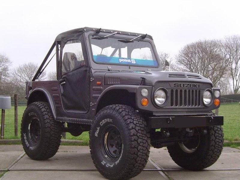 modifikasi mobil suzuki jimny lj80