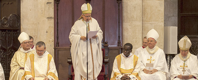 Cerimònia de presa de possessió del nou Arquebisbe de Tarragona
