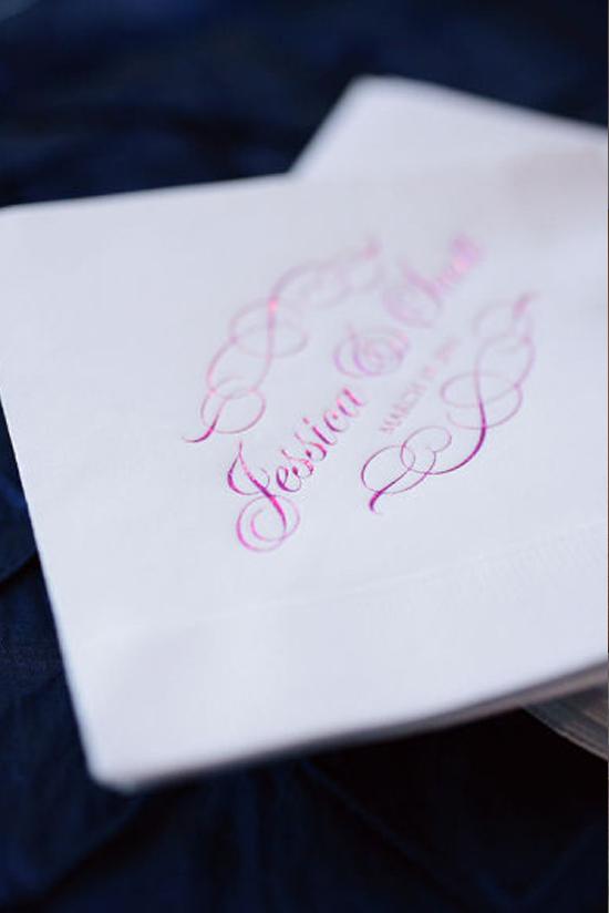 Oh mywedding servilletas personalizadas en la decoraci n for Decoracion de servilletas