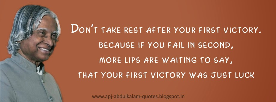 Quotes by Abdul Kalam on Youth