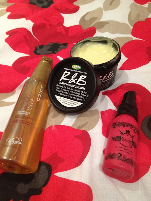 hair care lush and joico