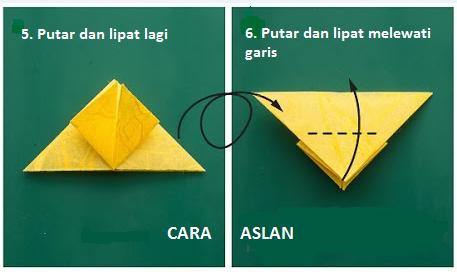 tutorial origami kupu2