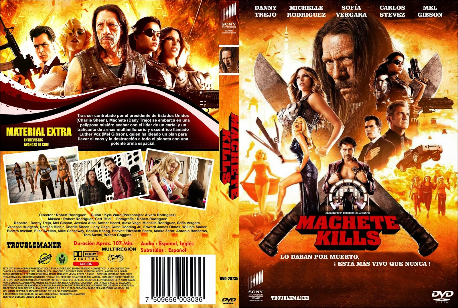 Machete Mata BDRip XviD Dual Áudio MACHETE 2BKILLS