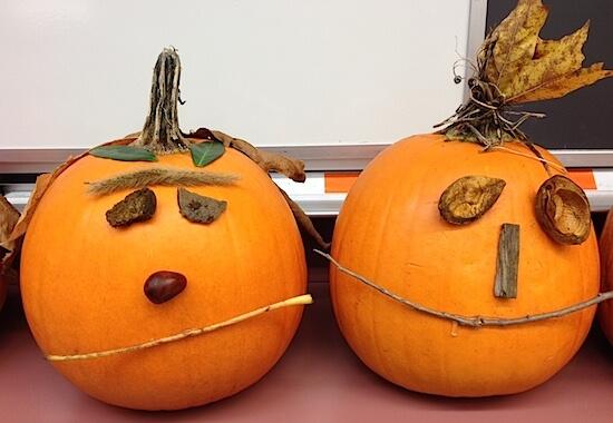 Nature Pumpkins by GradeONEderful.com