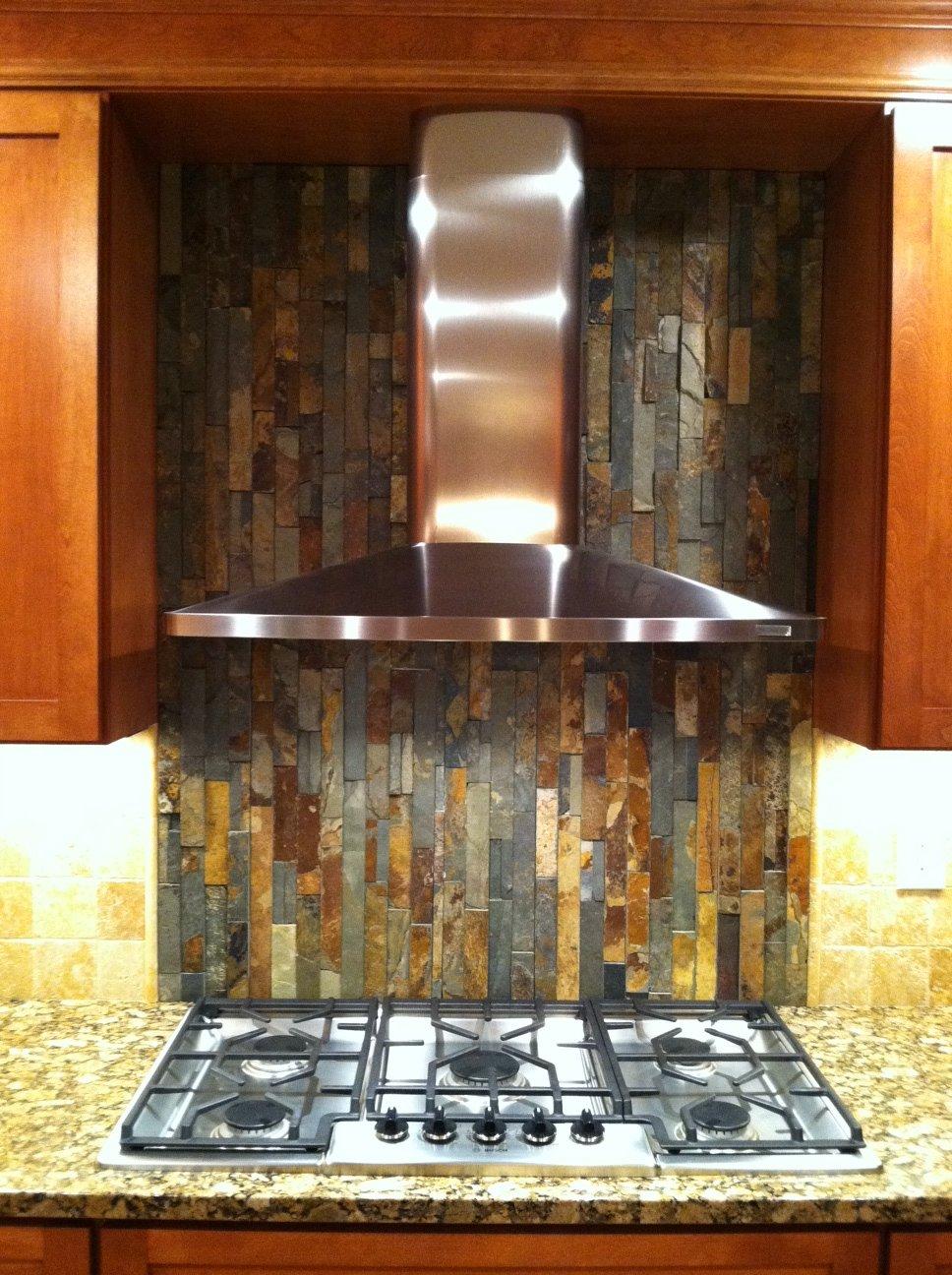 Simple but Bold Kitchen Backsplash HWinter Showroom Blog