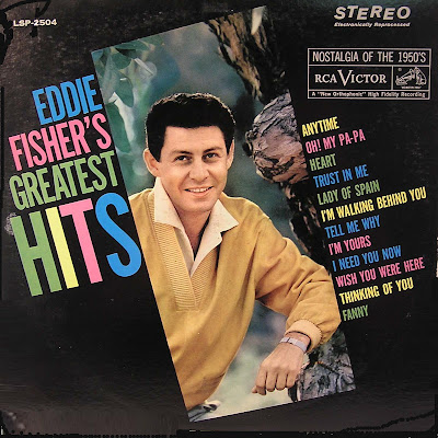 EDDIE FISHER Greatest hits