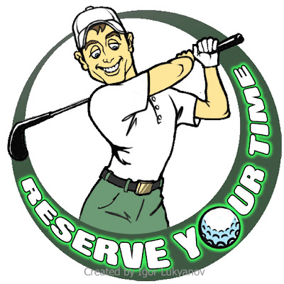 dessin golf logo