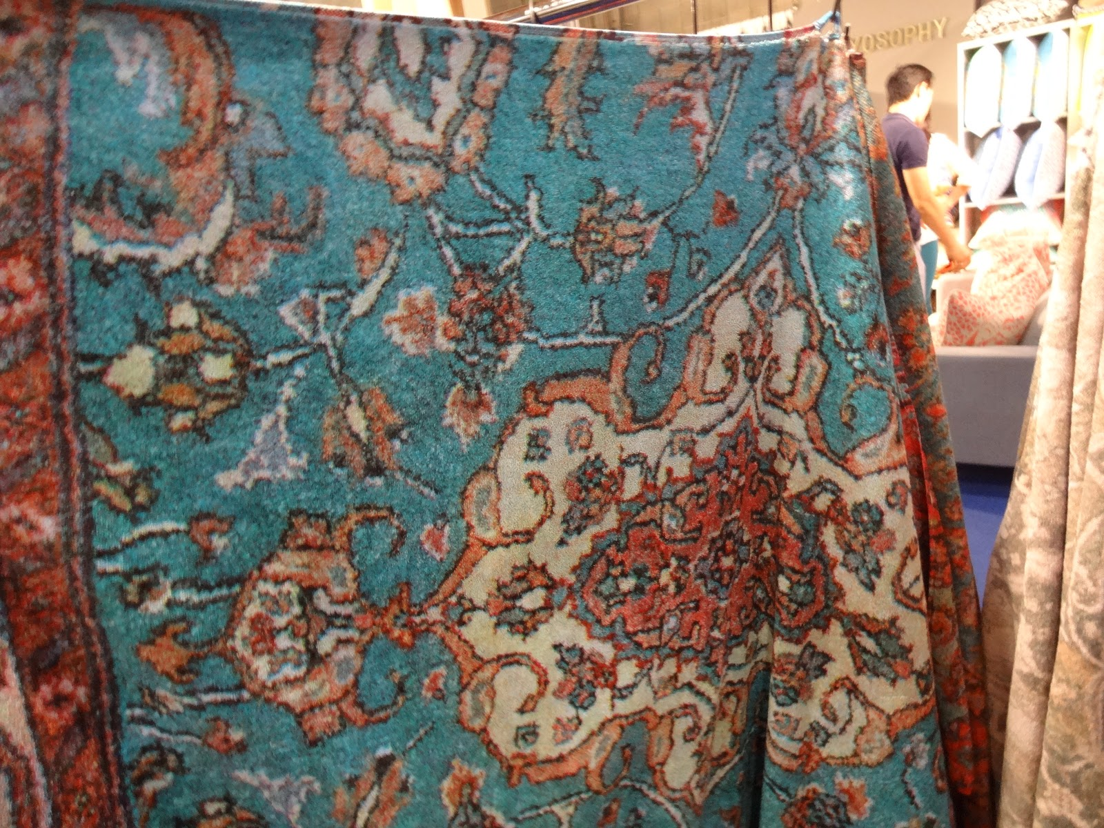 We Discovered The FRESCO Towel Line, Which Had The Most Vibrant And Fun  Bath Towels Weu0027ve Seen. These Towels Were So Richly Colored With Wonderful  Paisley ...
